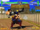 Fighting Vipers - Sanman versus Bahn