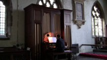 East of the sun - Chris Lawton at St Mary and St Nicholas Church, Wrangle, Lincolnshire