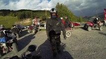 QUAD RAPTOR 700  YAMAHA - Rando Quad Station de ski - Vallé Blanche - GoPro HD