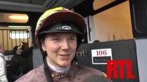 Interview de Camille Levesque, Jockey de QUARRY BAY