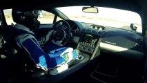 La voiture la plus rapide du monde :  Lamborghini Gallardo