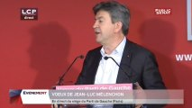 Voeux du Parti de Gauche- intervention de Jean-Luc Mélenchon