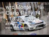 watch wrc Monte Carlo Rally racers online