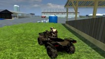 #022 Test MOD ATV QUAD POLARIS I FARMING SIMULATOR 2013 !