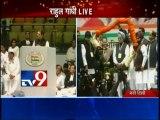 LIVE Rahul Gandhi Speech From AICC Meet-TV9/Part1