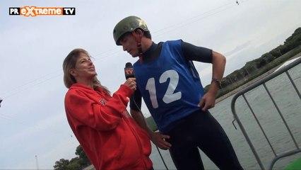 Martha Boul entrevista a Luis Montana - Campeonato España Cable WakeBoard & WakeSkate PR Extreme... (HD)