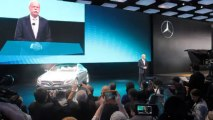MERCEDES CONCEPT S-CLASS COUPE Reveal; with CEO Dieter Zetsche at NAIAS NewCarNews.TV Bob Giles