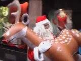 Santa claus in sex shop / pere noel va au sexe shop