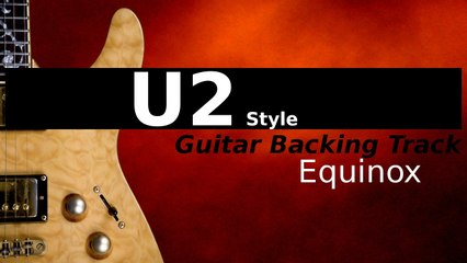 Rock Backing Track for Guitar in D Major - Equinox