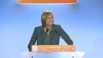 Marielle de Sarnez, intervention sur l'Europe - 3ème Congrès du Mouvement Démocrate - 180114