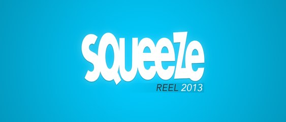 Squeeze Studio ShowReel 2013