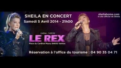 Sheila-Le Show - Galas 2014-Valréas