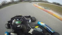 2012 Onboard Go Karting, Helmet View, Go Pro HD, Practice Session!