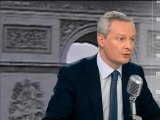 "Bruno Lemaire: ""il faut maintenir l'interdiction du cannabis"" - 20/01"