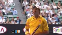 Rafael Nadal vs Kei Nishikori Highlights Australian Open R4 2014