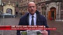 F. Hollande en visite officielle aux Pays-Bas sans Première dame