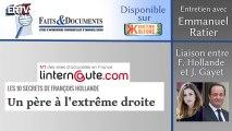 Emmanuel Ratier sur la liaison entre François Hollande et Julie Gayet