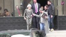 Lady Gaga à Paris avec Azzedine Alaia