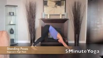 5 Minute Yoga - Beginner's High Plank