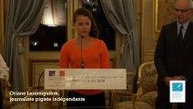 Interview d'Oriane Laromiguière, lauréate 2013 du Prix Louise Weiss du journalisme européen