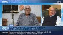 BFMTV Replay: Massacre d'Oradour: témoignage d'un ex-SS et réaction d'un survivant - 20/01