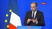 Jean-François Copé s'exprime lors de la convention UMP pour les municipales