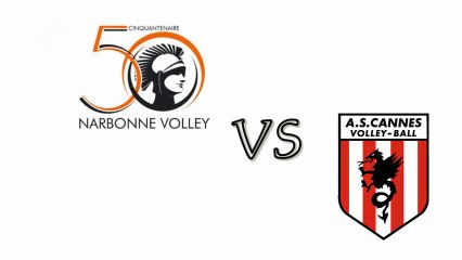 reportage Narbonne volley Vs CANNES  2013