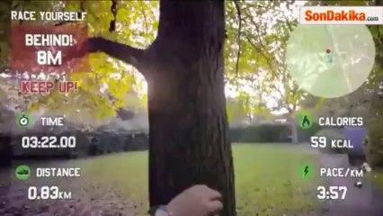 Google Glass İle Spor Yapınca