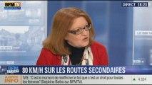 BFM Story: Christiane Bayard conteste la limitation 80km/h sur les routes secondaires - 21/01