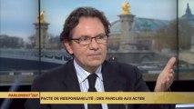 """Pacte de responsabilité : Frédéric Lefebvre appelle Hollande à s'exprimer """"devant le Congrès"""""""