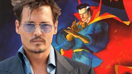 Doctor Strange Movie Johnny Depp Rumors – MarvelMonday