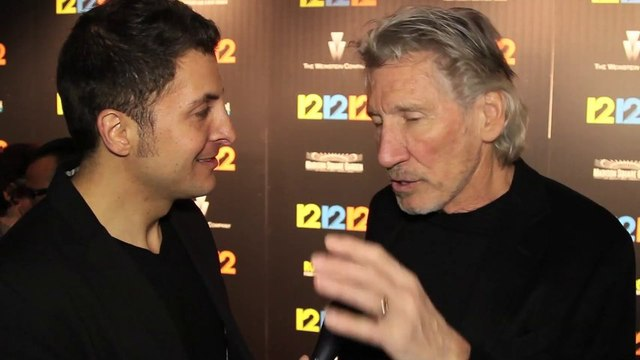"""Pink Floyd Bassist and Rock Icon Roger Waters #InTheLab at the """"12-12-12"""" Premiere"""
