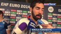Euro Handball / Les Bleus sans trembler - 21/01