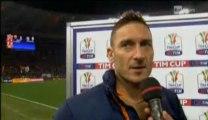 Tim Cup Roma Juventus - Intervista Francesco Totti