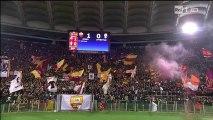 Francesco Totti al termine di Roma 1-0 Juventus Coppa Italia 21-1-2014