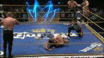 Blue Panther, Shocker, Thunder vs Tiger, Último Guerrero, Vangellys