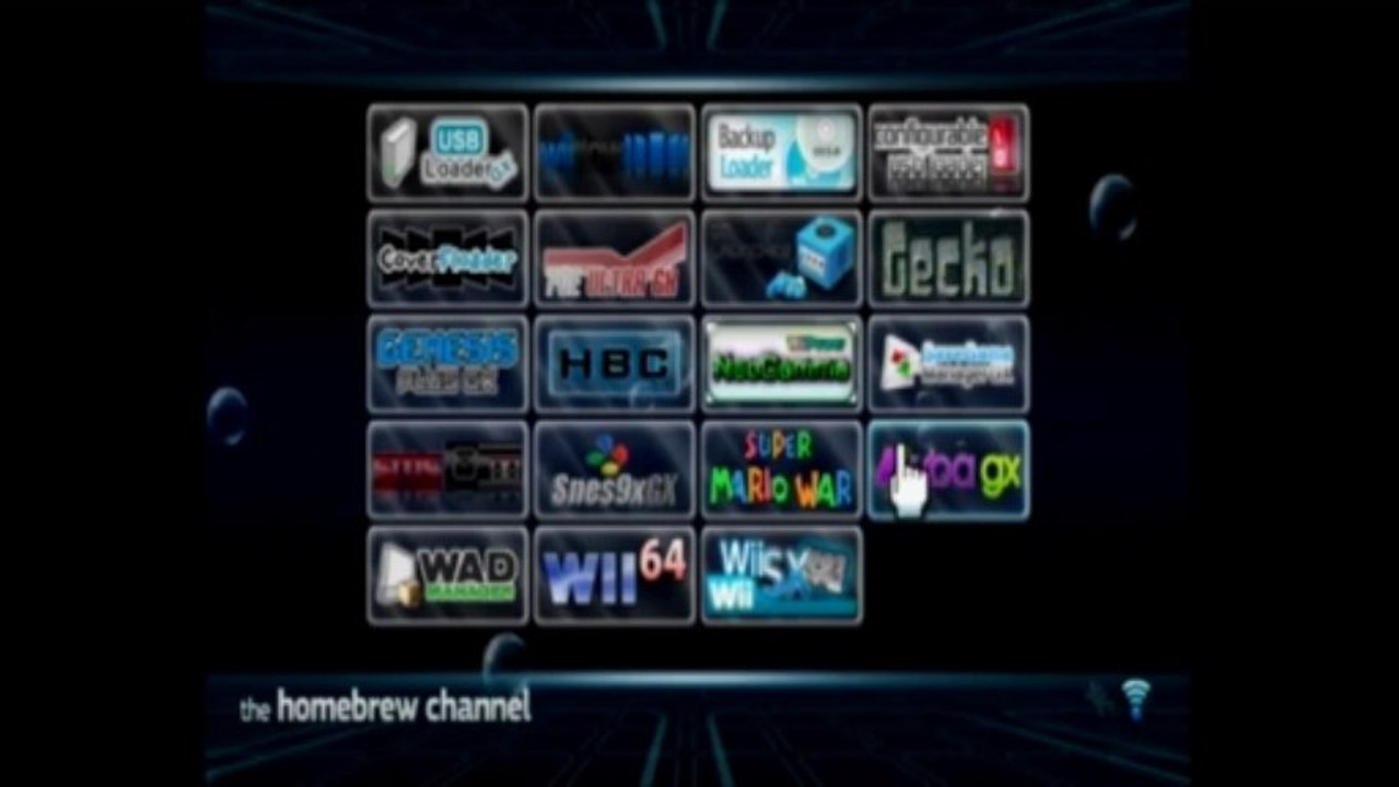 HBC-louise Theme for the Homebrew Channel - Wii