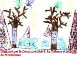 Remise des prix du concours Dessine-moi Noël à Montélimar