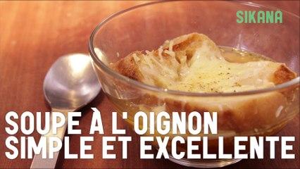 Soupe à l'oignon simple et excellente - HD