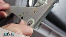 Zawiasy drzwi - wymiana, naprawa. Części zamienne do AGD i RTV.