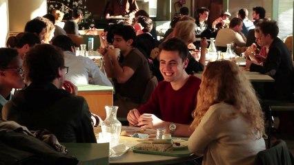 Le restaurant et la cafétéria de la Cité internationale universitaire de Paris