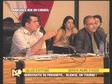AGDE - 2007 - SILENCE ON TOURNE - Conseil Municipal du 27 juillet 20