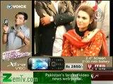 Aaj with Reham Khan (Punjab Mein Kis Siyasi Jamaat Ka Giraf Brhe Ga?? Tehreek-e-Insaf Ya Muslim Leegue - N) – 22th January 2014