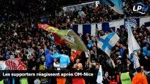 Les supporters réagissent après OM-Nice