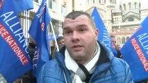Mobilisation de syndicats de police à Marseille