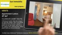 A vendre - Appartement - VILLENEUVE LOUBET (06270) - 2 pièces - 27m²