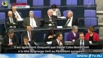 Cohn Bendit et le lobby pédophile vert humilié par la télé Russe