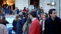 Cae la deuda pública del conjunto de la eurozona por primera vez desde 2007