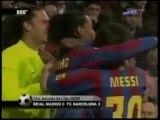 Resum Real Madrid 0-3 Barça. Lliga 2005-06