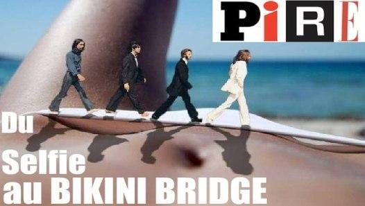 Bikini Bridge Selfie Pussy
